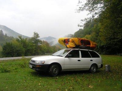 Авто на природе.