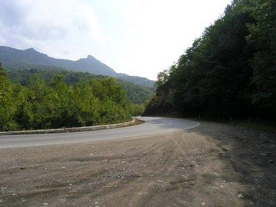 Дорога на Туапсе.