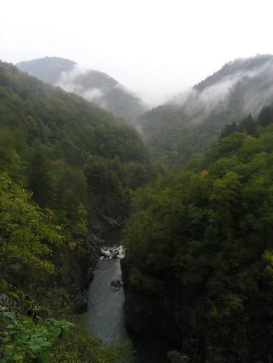 Каньон на реке Белая.