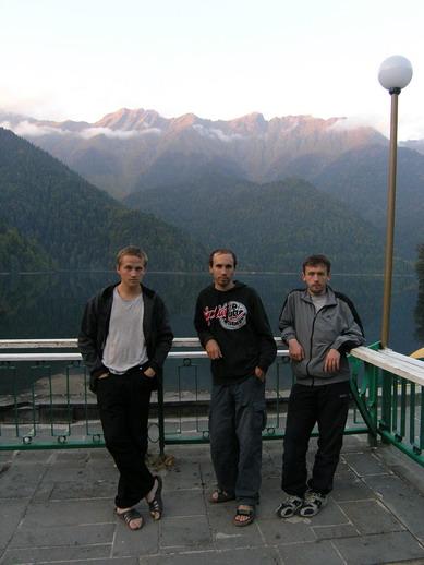 Серж, Санчис, Игорь.