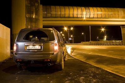 Honda Pilot на тест-драйве Drom.ru