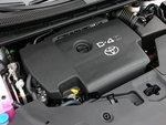 На холостых оборотах 2,2-литровый дизель Toyota издает заметный шум.