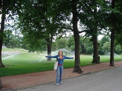 Парк в Хельсинки.