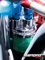Масляный фильтр сменил дислокацию под капотом Honda Civic EX