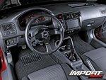 Интерьер Honda Civic EX: ничего лишнего