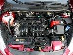 96-сильная Fiesta имеет преимущество в плане ускорения и развития крутящего момента.