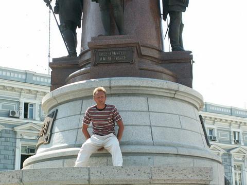 Памятник Екатерине и всем её фаворитам.