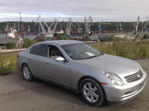 Южно-Сахалинск — Комсомольск-на-Амуре — Новосибирск на Nissan Skyline в сентябре 2008.