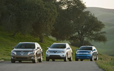 Ford Edge, Nissan Murano и Toyota Venza