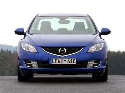 В высоту Mazda6 имеет 1,44 метра.