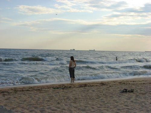 Утро на Азовском море.