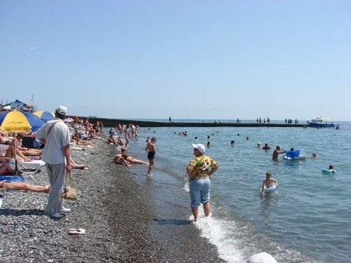 Бесплатный пляж.