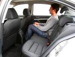 В плане свободы для ног на заднем сиденье чешский автомобиль оказывается самым просторным.