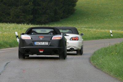 Opel GT и Honda S2000