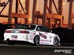 Nissan Silvia, вид сзади