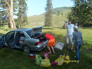 Русский экстрим на Алтае на Mitsubishi Lancer Cedia.