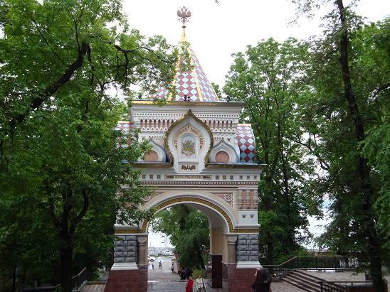 Николаевская триумфальная арка.
