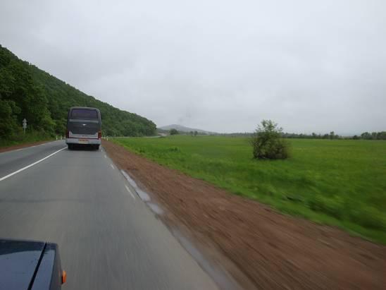 Дорога Владивосток - Находка.