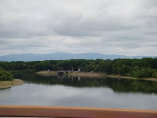 Река Уссури.