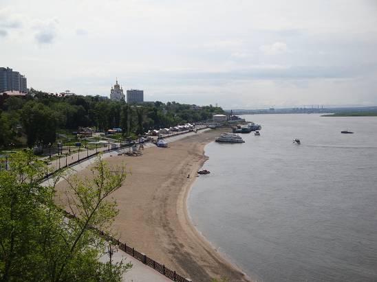 Набережная Хабаровска.