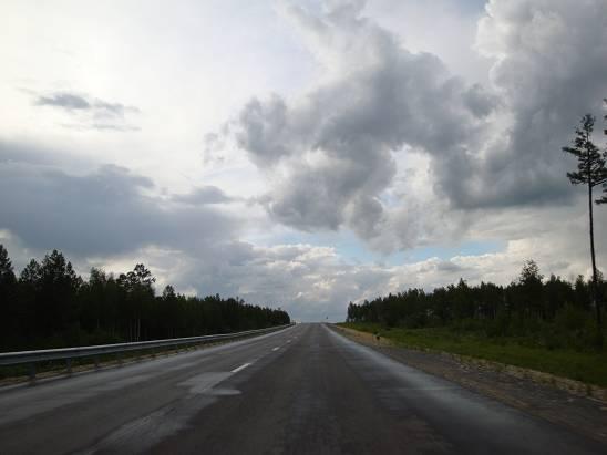 Трасса Шимановск - Магдагачи.