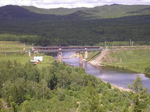Река Большая Чичатка перед Амазаром.