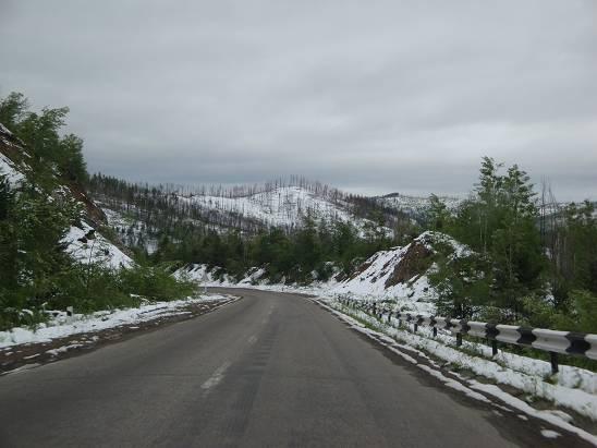 Перевал перед Бурятией.