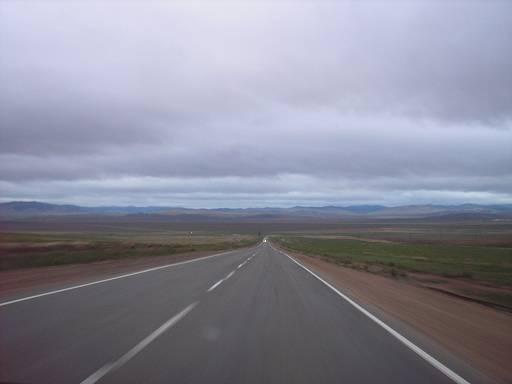 Трасса в Улан-Удэ.