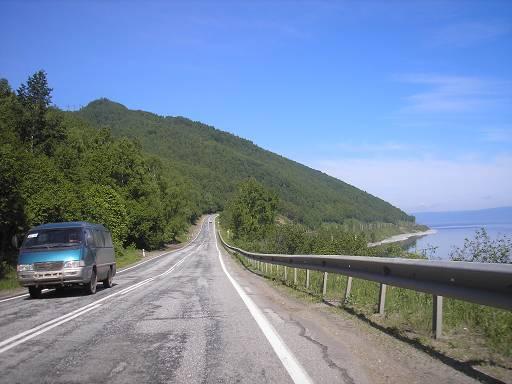 Трасса Байкальск – Слюдянка.