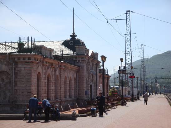 Вокзал на станции
