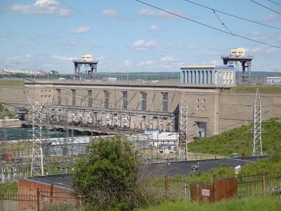 Иркутская ГЭС.