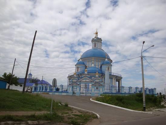 Церковь в посёлке Тельма.