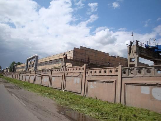 Красноярский шинный завод.