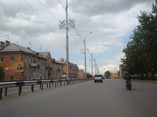 Старая часть города.