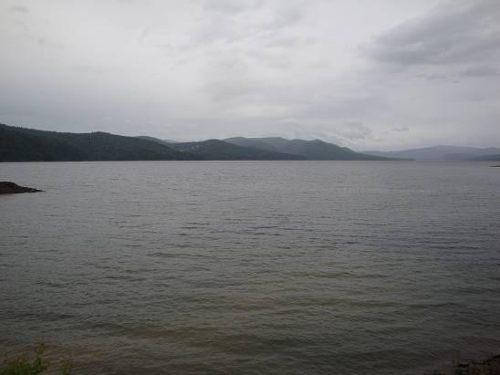 Красноярское море.