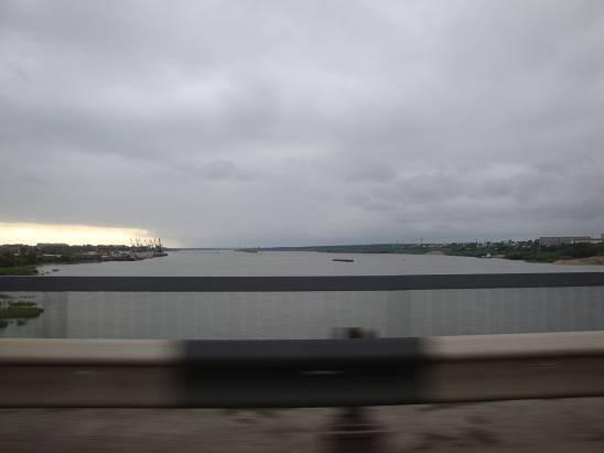 Река Обь.