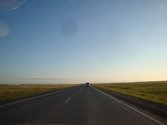 Степи в Новосибирской области.