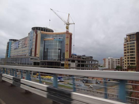 Строительство новых зданий.