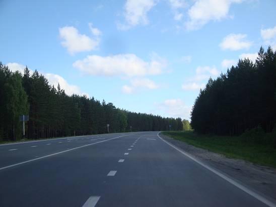 Трасса в Тюмень.