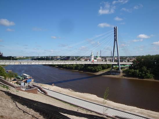 Набережная реки Тура.
