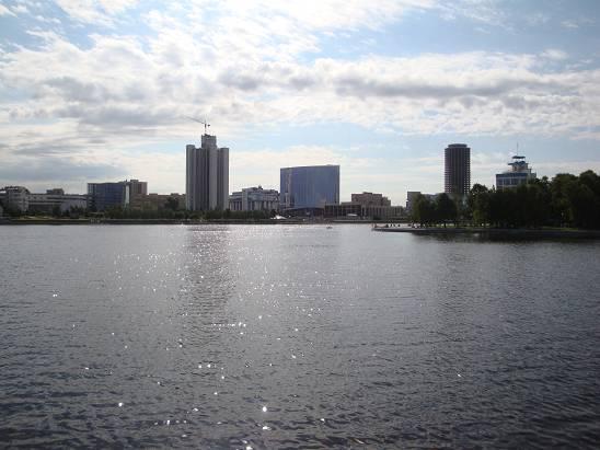 Городской пруд.