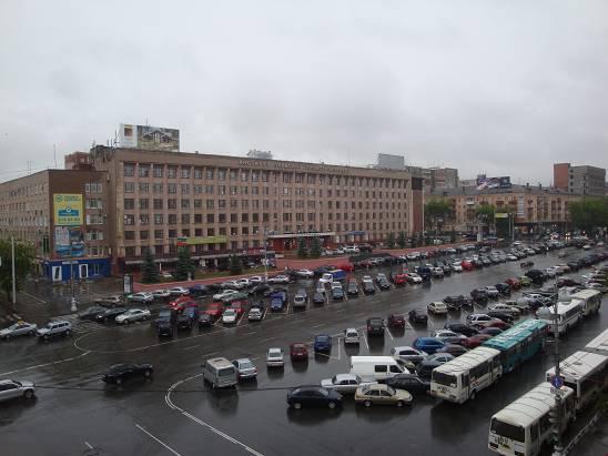 Центральная площадь Перми.