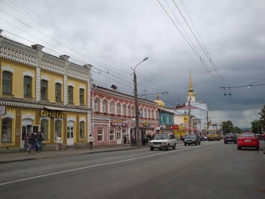Центр Ижевска.