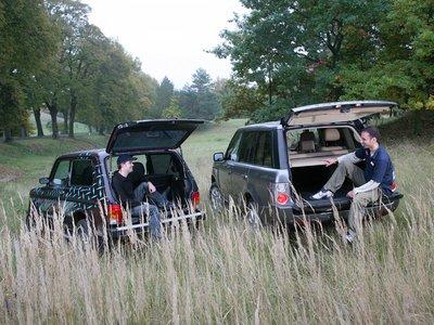 Lada Niva Hunter 4x4 1.7i Autogas и Range Rover TDV8 Vogue