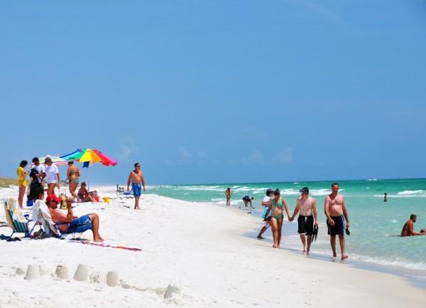 Пляжи Флориды предлагают чистый и теплый океан, белоснежный песок и «мягкое» южное солнце