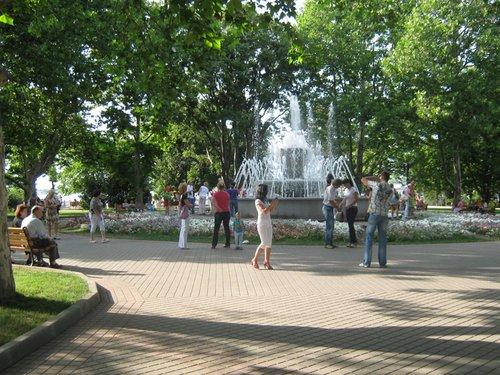Парк в Севастополе.