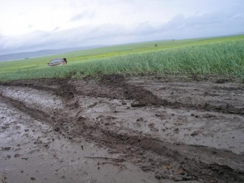 Поездка на Золотые пески (Братское водохранилище).