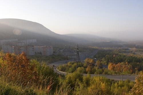 Кировск.