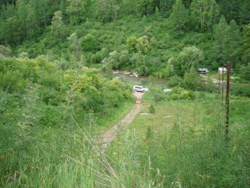 Вид из Денисовой пещеры.