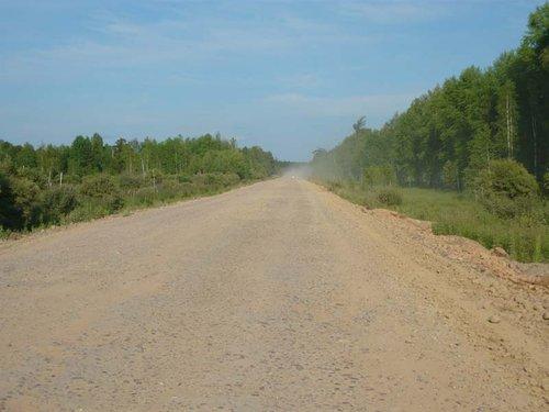 Дорога, Нижний Ингаш.